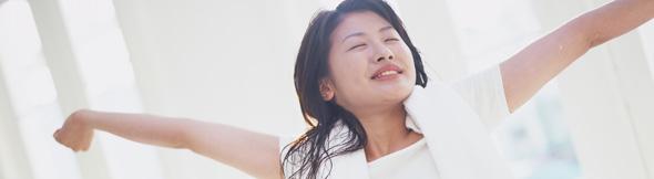 深呼吸をすると、心も体も豊かになるよ!間違いない!