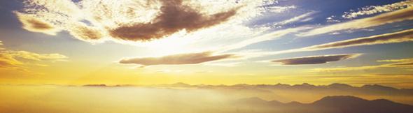 受容と決意:黎明の雲海!さぁ!新しいこと、はじめよー!