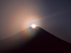 富士山のご来光は、汗かきべそかき登るからこそ価値がある