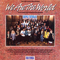 """We Are The World"" by USA for AFRICA"