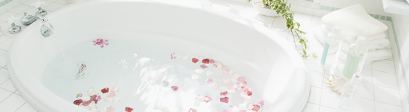 お風呂で温めるのが一番!